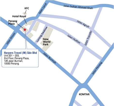Harpers Travel Penang Office